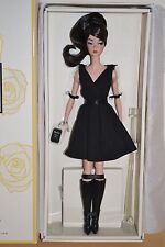 2017 Gold Label Silkstone BFMC CLASSIC BLACK BRUNETTE Barbie - NEW RELEASE