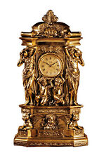 Rococo Clock with Cherubs and Water Midens Replica Reproduction 20""