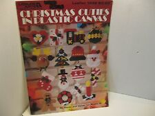 LEISURE ARTS  CROSS STITCH CHRISTMAS CUTIES IN PLASTIC CANVAS
