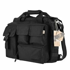 "Koolertron Men's Nylon Tactical Military Shoulder Messenger Bag Fit 15.6"" Laptop"