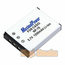 Camera Battery For CASIO NP-70 NP70 Exilim Zoom EX-Z150 EX-Z155 EX-Z250 1200mAh