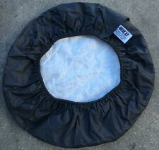 ADCO SPARE TEMPORARY DONUT TIRE WHEEL COVER BLACK 125 70-R 15 RV CAMPER