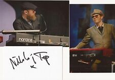 THE SPECIALS: NIK TORP SIGNED 3x5 WHITECARD+2 UNSIGNED PHOTOS+COA