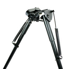Hunting Rifle Bipod 13-23 Inch Adjustable Handy Spring Return Sniper Shoot Stick