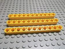 Lego 3 Technic Balken Liftarm 11 gelb 32525 Set 8069 42024 8258 8421 8295
