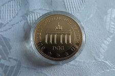 *Münze/Medaille  Vergoldet ca.40mm PP *Brandenburger Tor (KOF1)