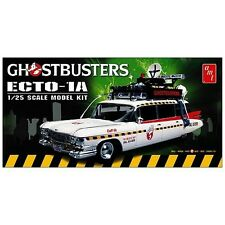 Ghostbusters ~ Ecto-1A ~ 1:25 Scale Model Kit by Round 2 Models