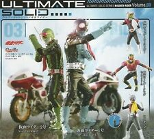幪面超人bandai kaman karman rider Masked Rider Ultimate Solid 3 x 5 pcs The first Riderman Kuuga Stronger (free shipping)