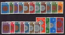 Guernsey 1979/83 monedas definitivo Conjunto de 22 SG177/198 Menta desmontado