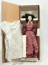 "Vintage Franklin Heirloom Dolls Little Women ""Beth"" Porcelain Collector Doll"