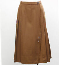 Vintage 1980s ladies kilt Laurèl pleated wool skirt Laure'l West Germany Laurel