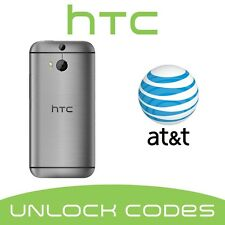 ATT UNLOCK CODE/SERVICE FOR AT&T HTC ONE X S V M7 M8 M9 DESIRE 601 510 320