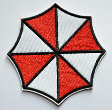 Evil Red Umbrella Corporation Embroidered Iron On Patch - HORRIBLE MONSTER