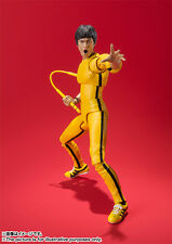 NEW!! BANDAI S.H.Figuarts Bruce Lee (Yellow Track Suit) Action Figure from Japan