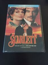 SCARLETT DVD SEQUEL TO GONE WITH THE WIND TIMOTHY DALTON JOANNE WHALLEY