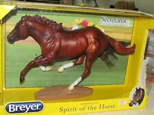 "12"" Breyer Secretariat #1345 1973 Triple Crown Champion Race Horse Figurine NIB!"