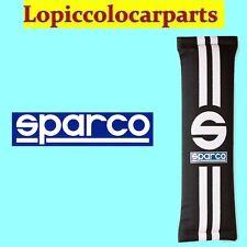 SPARCO 0109077NR Coppia Cuscinetti In Poliestere Per Cinture Linea 77 Color Neri