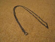 ███►alte Taschenuhrkette/aus Eisen mit Steinen - um 1910 (Fach 13)
