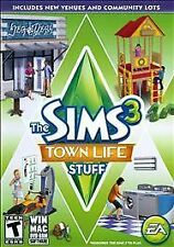 The Sims 3 Town Life Stuff Expansion for PC and MAC (BRAND NEW) FREE SHIPPING !!