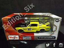 Maisto Custom Shop 1:24 1967 Ford Mustang GT American Muscle New boxed