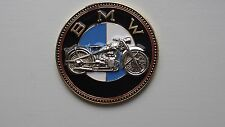 Vintage BMW motorcycle badge - BMW motorrad old timer Plakette