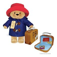 """Yottoy Classic PADDINGTON BEAR w/Suitcase Soft Toy - 16"""" #531 - New with Tags"""