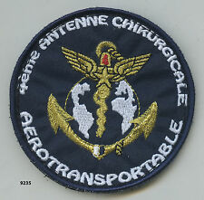Patch santé , 4 Antenne Chirurgicale Aérotransportabe  , ( patch Ø 78mm. )