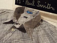 "PAUL SMITH Mens Shirt �� Size XL (CHEST 46"") �� RRP £95+ �� IRREGULAR CHECKS"