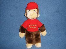 Curious George 1984 Eden Stuffed Plush Doll Toy Book Monkey VTG Animal 1980s Red