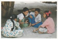 (82082) Postcard India Hampi Karnataka Children Play - un-posted