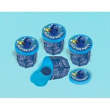 FINDING DORY GLITTER PUTTY (4) ~ Birthday Party Supplies Goo Slime Disney Favors