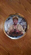 John Wayne, Symbol of America's Naval Heroes Rare Collector Plate