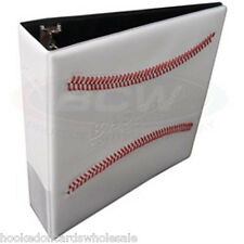 "1 BCW 3"" White Baseball Card Storage D-Ring Album Binder Book Display Protect"
