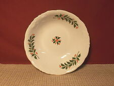 Royal Kent China (Poland) Holly Berry & Embossed Scroll Round Vegetable  & More
