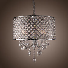 Modern Pendant Ceiling Light Crystal Lighting Dining Living Room Lamp Chandelier