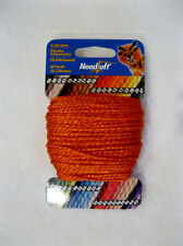 NEEDLOFT CRAFT YARN BITTERSWEET #52  for PLASTIC CANVAS by COTTAGE MILLS