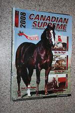 2008 Canadian Supreme Stallion Register Magazine