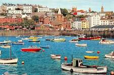 Guernsey Channel Islands Harbour Boats Bateaux Auto Cars