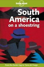 Lonely Planet South America on a Shoestring-ExLibrary