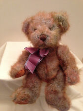 "Russ Berrie Mayberry Teddy Bear Collectible Stuffed Plush Animal  10"" Rare"