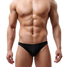 Mens Sexy Pespective Briefs Underwears Soft Underpants Shorts Bikini Thongs