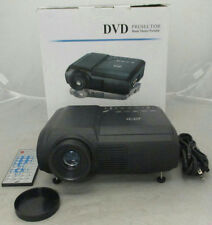 Home Theater Portable DVD Projector Bundle Black IOB Tested