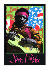 Jimi Hendrix Commeorarive Artwork Frank Kozik 1995 Collectible Card
