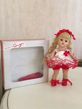 VINTAGE VOGUE GINNY DOLL BLONDE BRAIDS IN GINGER  OUTFIT WITH BOX EARLY 1950's