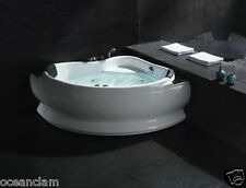 DOUBLE 2 people CORNER massage jets bath bathtub 1300mm TOP QUALITY ACRYLIC
