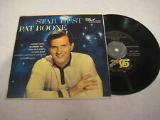 PAT BOONE STAR DUST Original 1958 EP Blueberry Hill Autumn Leaves St Louis Blues