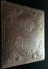 VERY RARE - JENNY LIND LEATHERETTE CASE FOR YOUR FAVORITE 1850'S DAGUERREOTYPE
