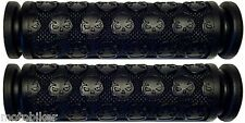 MOUNTAIN BIKE BMX FIT EASTERN GT GIANT HARO JAMIS REDLINE BLACK SKULL GEL GRIPS
