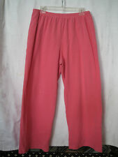 Carole Little Intimates Loungewear Pink Pants-Size XL-Pre-owned