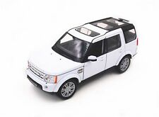 WELLY 1:24 W/B LAND ROVER DISCOVERY 4 Diecast Car Model White